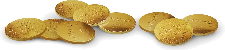 מטבעות שוקולד כרמית