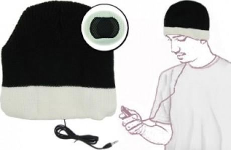 כובע צמר מחמם עם אוזניות