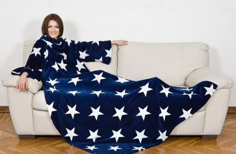 שמיכה עם שרוולים - כוכבים