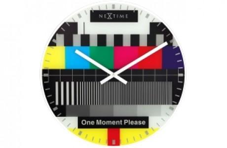שעון קיר NEXTIME - טלוויזיה