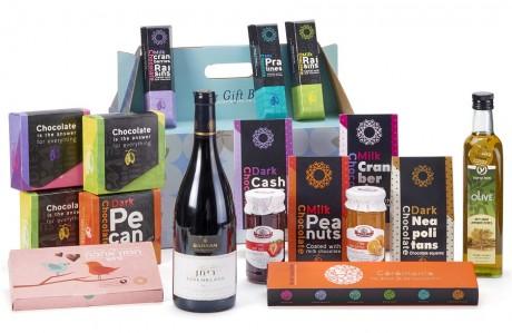 חבילת שי יוקרתית - עם יין ושמן זית
