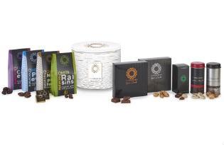 מארז אוריאן - מבחר שוקולדים בקופסת פח לבנה
