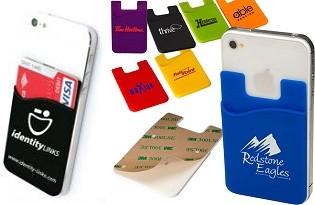 כיס אחורי לסמארטפון לכרטיסי אשראי