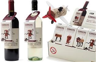 Corkers - ערכות לעיצוב דמויות מפקקי יין