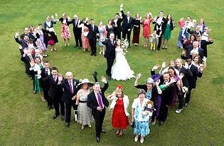 צילום חתונות עם רחפן Drone