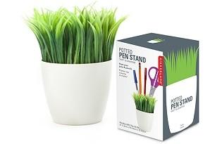 מעמד לעטים עציץ דשא