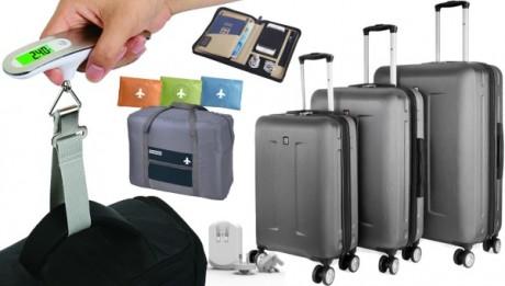 מזוודות ואביזרי טיסה