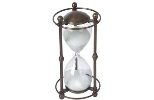 שעון חול במראה עתיק