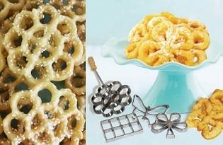 רוזט - ידית להכנת עוגיות מטוגנות בצורות