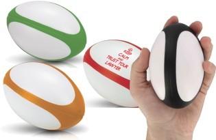 כדור לחץ רוגבי עם לוגו