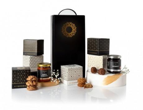חבילת שי סאן-קונפיטורה ושוקולדים
