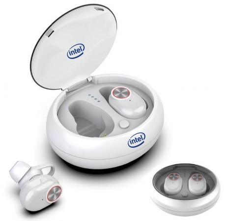 זוג אוזניות כפתור בלוטוס בטכנולוגיית True Wireless