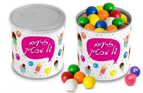 קופסת ממתקים ממותגת - מסטיקים