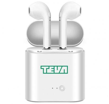 זוג אוזניות בלוטות' אלחוטיות בטכנולוגיה חדשנית TWS