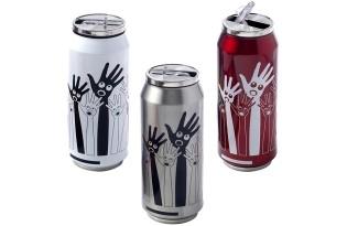 כוס תרמית ממותגת בצורת פחית שתייה