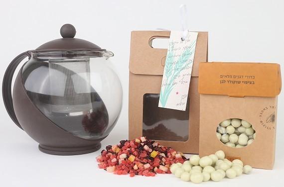 חבילת שי - מארז תה חגיגי