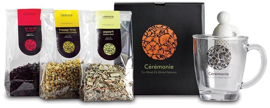 מארז שי סרמוני תה - TEA4U