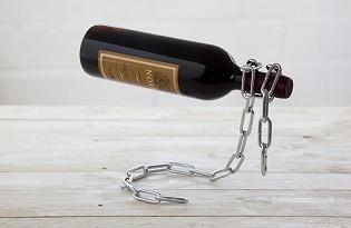 מעמד לבקבוק יין - שרשרת
