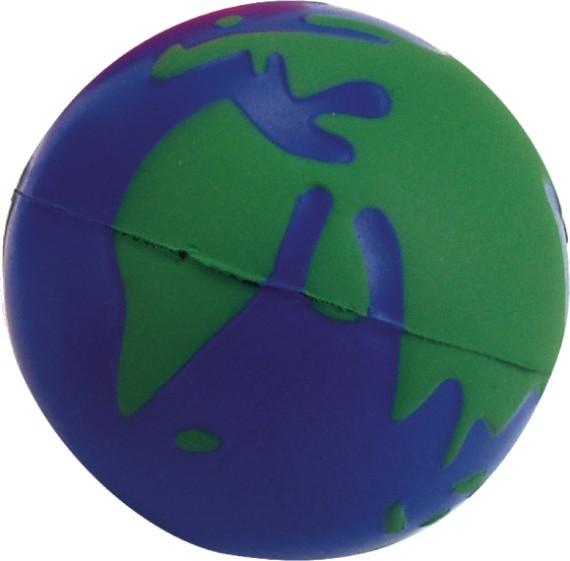 כדור לחץ ממותג בעיצוב כדור הארץ