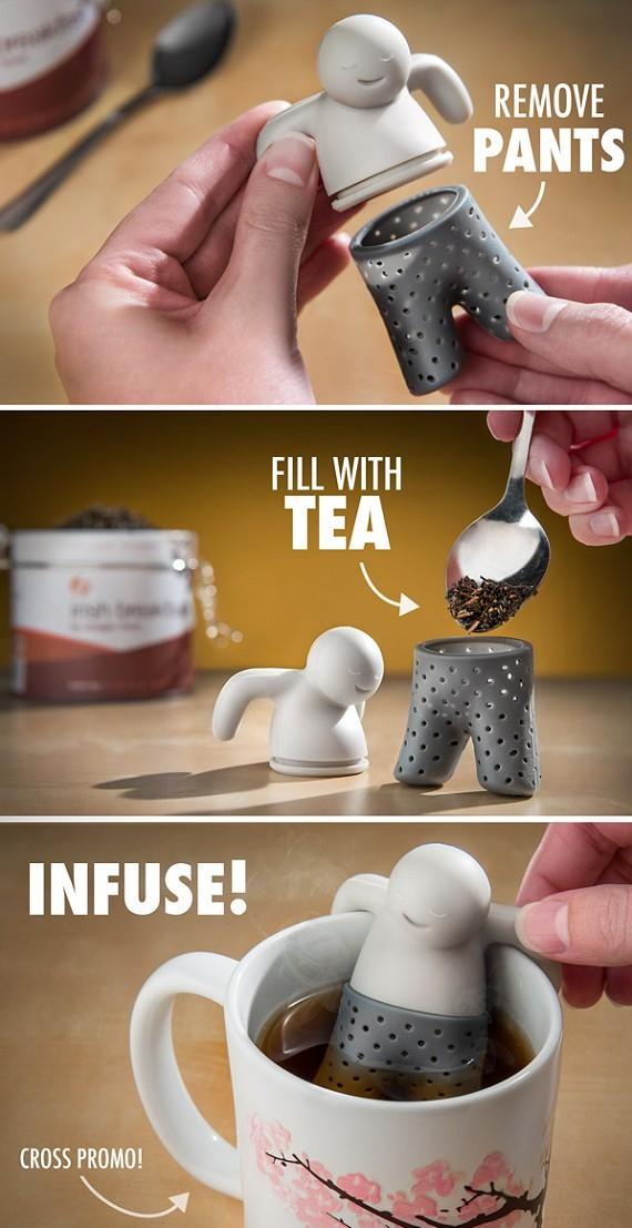 מיסטר טי - חולט תה בעיצוב מדליק