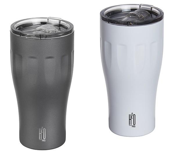 כוס תרמית נירוסטה בעיצוב הייטקי מבית H2O