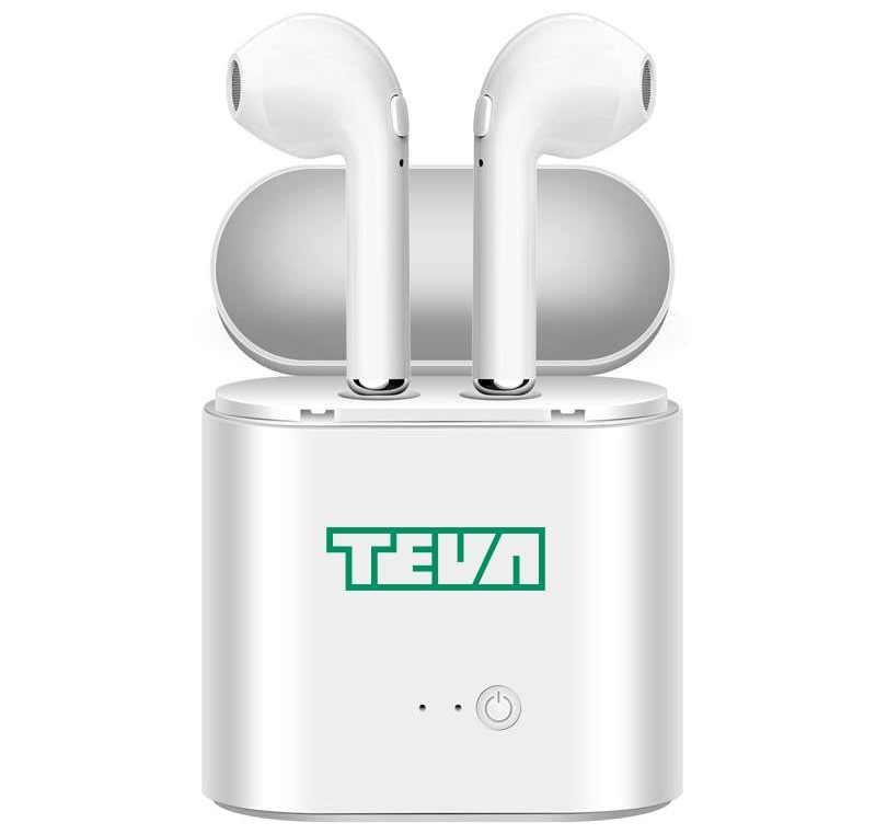 זוג אוזניות Bluetooth אלחוטיות בטכנולוגיה חדשנית TWS