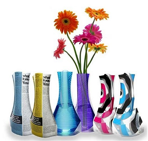 Vazu Expandable Flower Vaseroducing An Expandable Flower Vase
