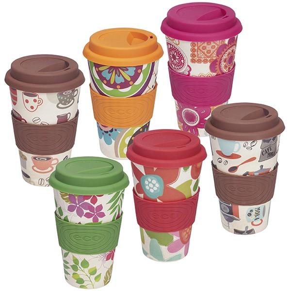 כוס תרמית אקולוגית צבעונית